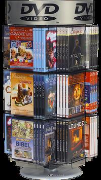 Tisch-Drehsäule  -  Film, PC-Spiele, DVD's