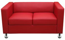 Sofa Zweisitzer  -  Kubische Form