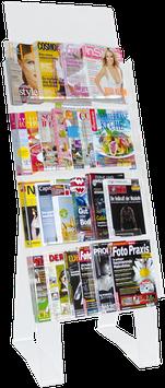 Bodendisplay - Ständer - für Tageszeitungen und Magazine