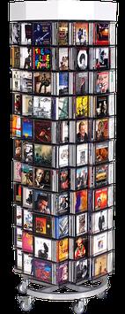 Drehsäule - 132 x 16 - für CD's