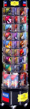 Drehsäule - Hörbücher CD's und Kataloge