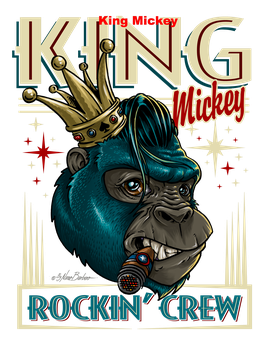"T Shirt ""King Mickey"""