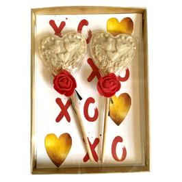 2 Weddingpops in een gouden doosje