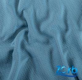 NEU !!! Meterware Zorb 3D   Organic Cotton   BLUE LAGOON