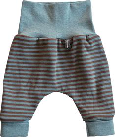 Newborn Ringel aqua/taupe