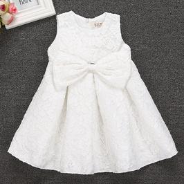 Robe classique blanche - 3 ans