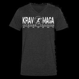 T-Shirt Herren aus Bio-Baumwolle mit V-Ausschnitt (Krav Maga)