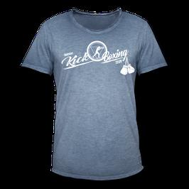 T-Shirt Herren Vintage (Kickboxen)