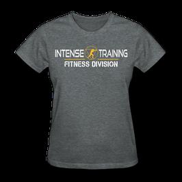 T-Shirt Damen (Intense-Training Fitness-Division)