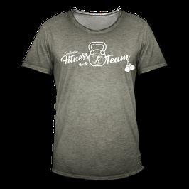 T-Shirt Herren Vintage (Fitness)