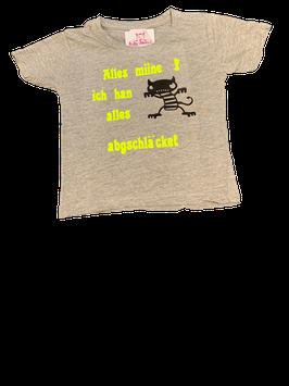 Babyshirt / Alles Mine, ich has abgschläcket