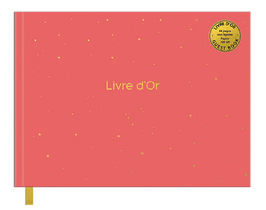 LIVRE D'OR PM COLOR CHIC PECHE