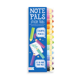 Note pals sticky tabs Crayons - Ooly