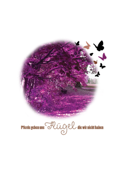 Design 9 Rosa Bäume
