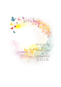 Design 3 Aquarell Schmetterling