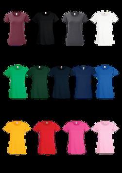 T-Shirt Female mit Design