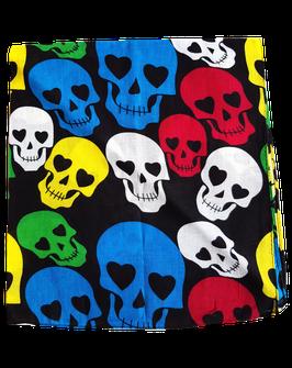 Bandanas Skulls bunt
