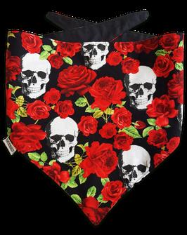 Halstuch Skull'n'Roses L