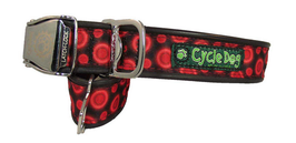 Cycle Dog Halsband Space Dots Red M