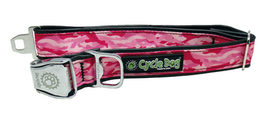 Cycle Dog Halsband Pink Camo M