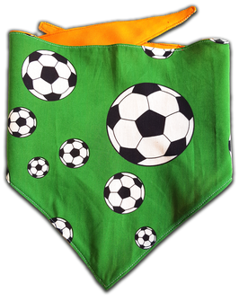Wendehalstuch Fussball orange L