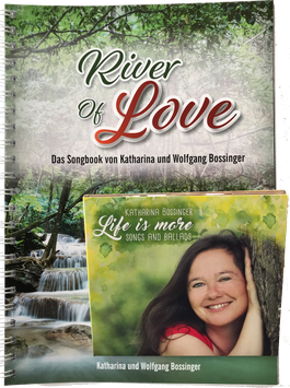 "River of Love-Paket: Liederbuch + CD ""Life is more"""