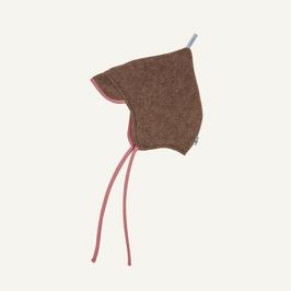 Finkid  POPI WOOL Zipfelmütze Wollfleece cocoa