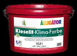 ALLIGATOR Kieselit Klima-Farbe LEF - 12,5 Liter weiß Lösemittel- und weichmacherfreie Silikatfarbe