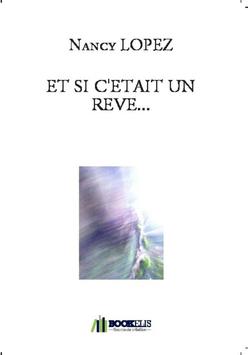 ET SI C'ETAIT UN REVE...