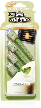 Vanilla Lime Car Vent Sticks