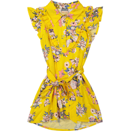 Vinrose Jurk Yellow