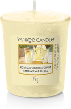 Homemade Herb Lemonade Votive