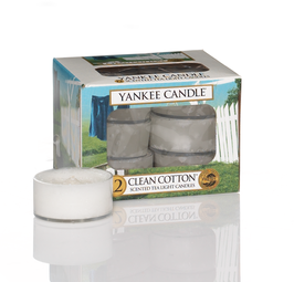 Clean Cotton Tealights