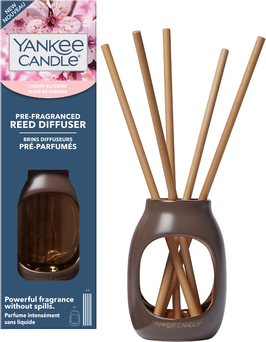 Cherry Blossom Pre-Fragranced Reed Starters Kit Metallic