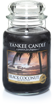 Black Coconut Larg Jar