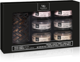 WW Deluxe Gift Set Six Petite Candles & Holder Spring/Summer
