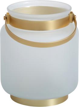 Frosty Large Jar Lantern