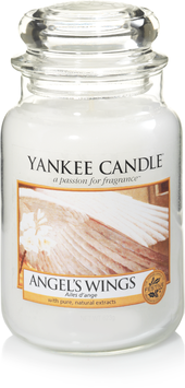 Angel's Wings Larg Jar