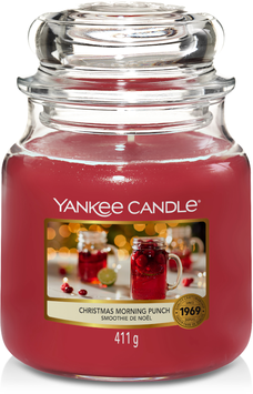 YC Christmas Morning Punch Medium Jar