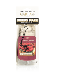 Black Cherry Car Jar 3-Pack