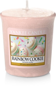 Rainbow Cookie Votive