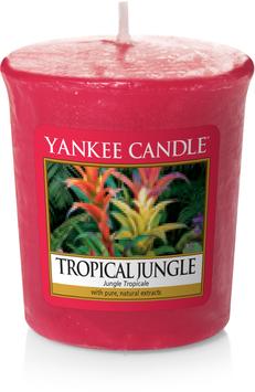 Tropical Jungle Votive