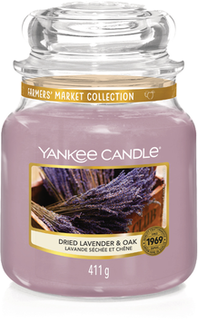 Dried Lavender & Oak Medium Jar