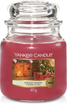 YC Holiday Heart Medium Jar