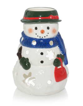YC Tea Light Holder Snowwoman