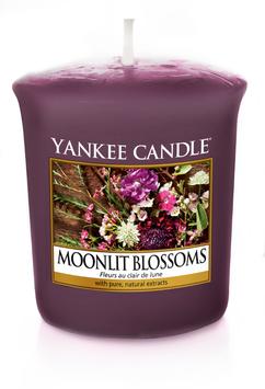 Moonlit Blossom Votive