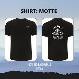 TIJU Unisex T-Shirt mit Rückenprint (Wunschmotiv)