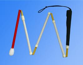 盲人安全つえ:MyCaneⅡフィットグリップ・ストレート