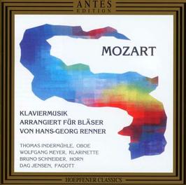 Klaviermusik Mozarts für Bläser
