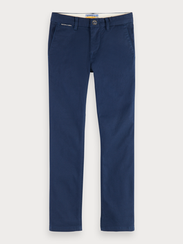 Scotch Shrunk Chino aus Bio-Baumwolle Slim Fit in Night Blue